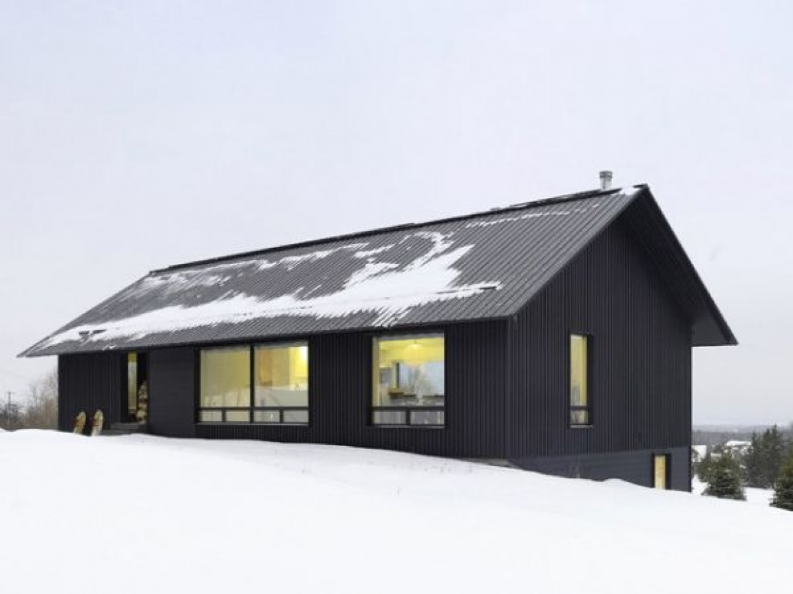 Mountain chalet house plans contemporary chalet house for Modern chalet house plans