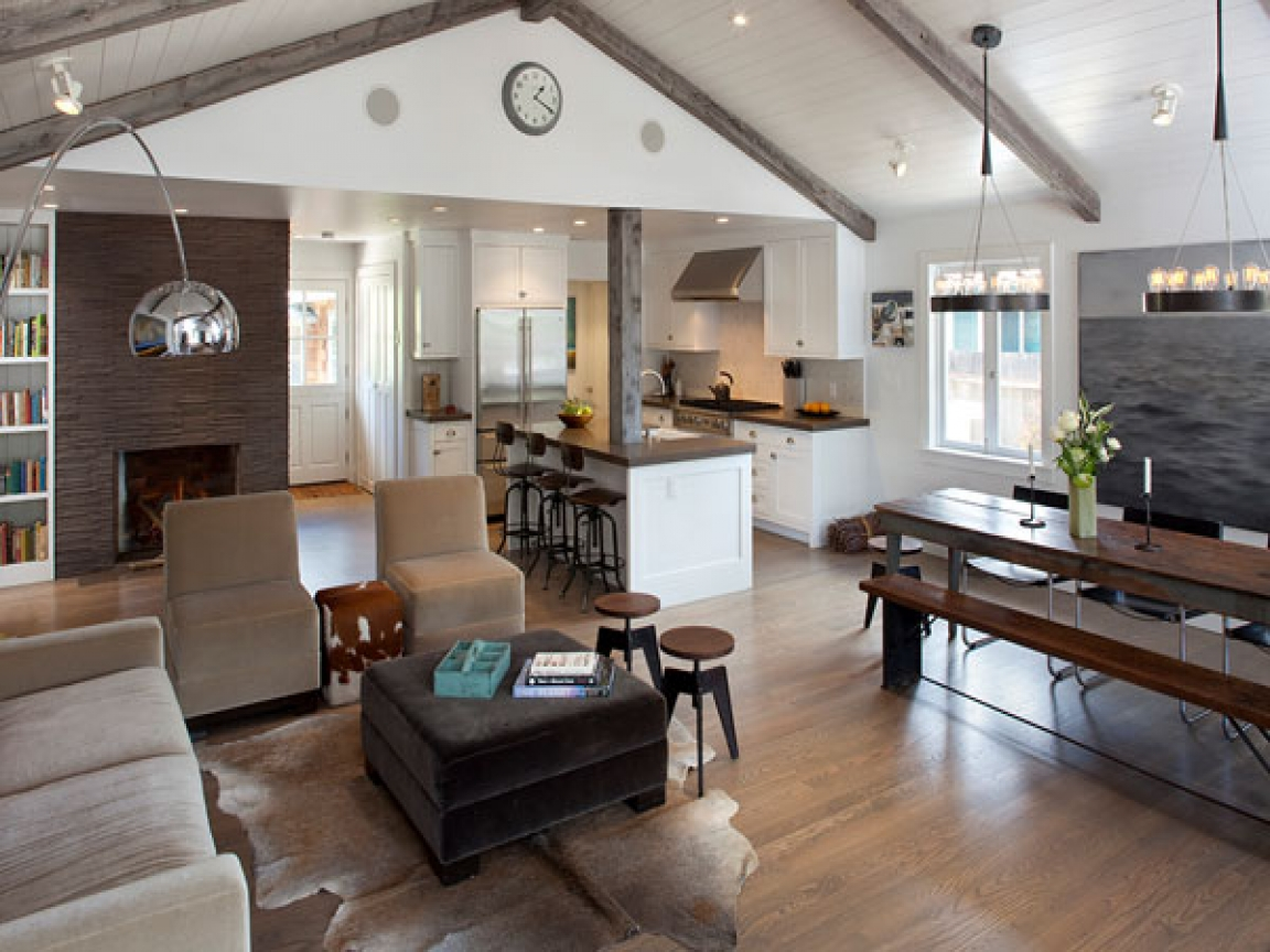 Open Kitchen Dining Living Room Designs 20 X 20 Open ...