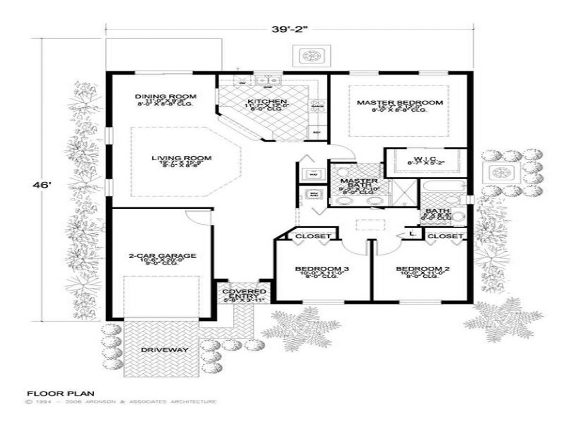 Small concrete block house plans simple concrete home for Small block house plans