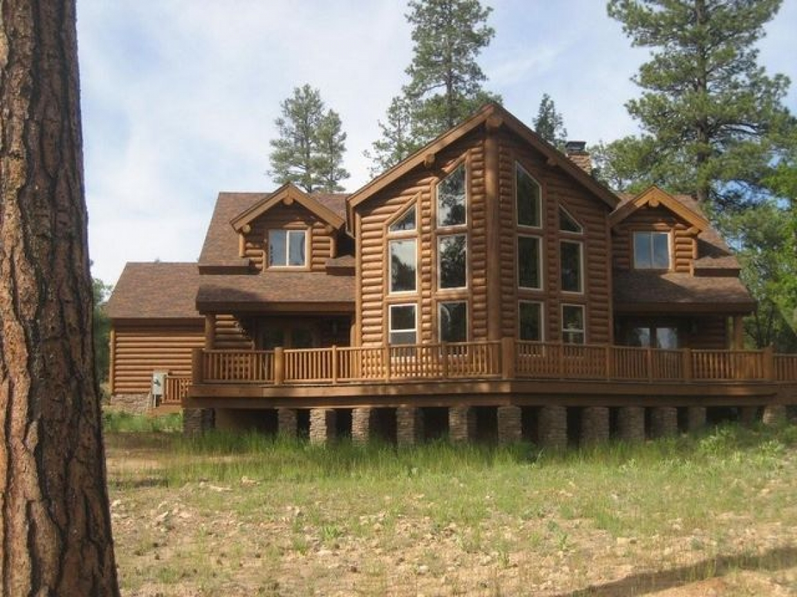 Amazing luxury log home plans full of natural and warm for Luxury log home plans