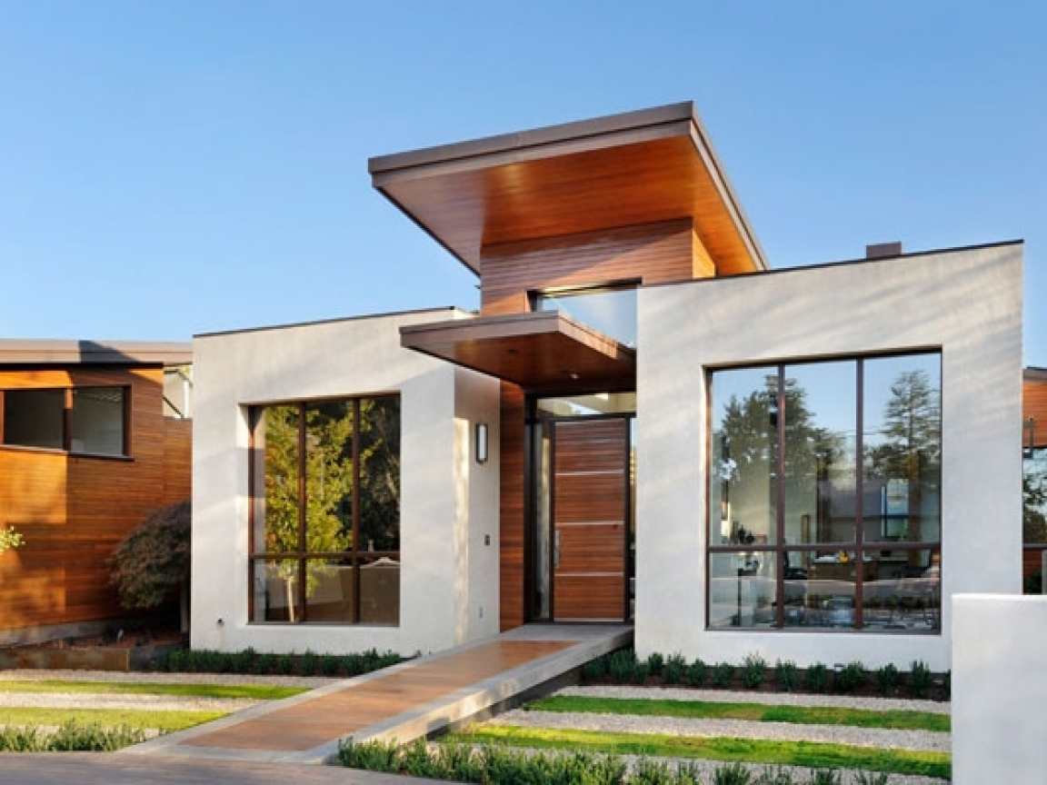 Small Modern House Exterior Design Ultra-Modern Small ...