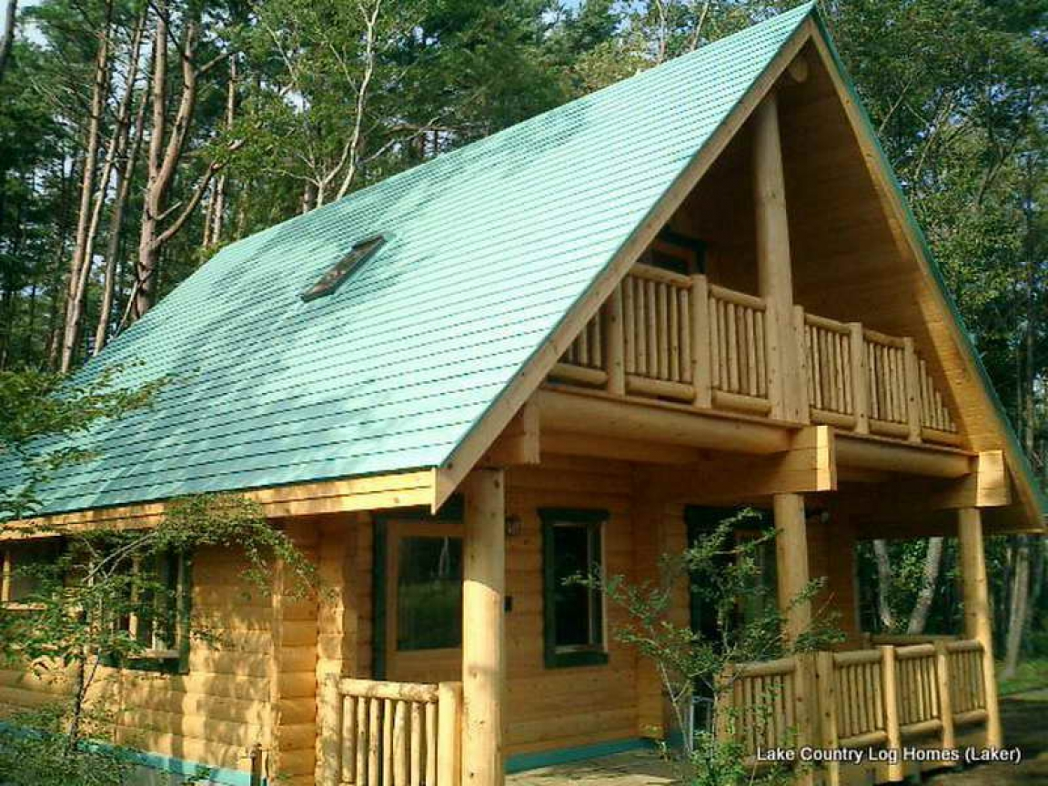 Amish log cabin packages small log cabin kit homes little for House building packages