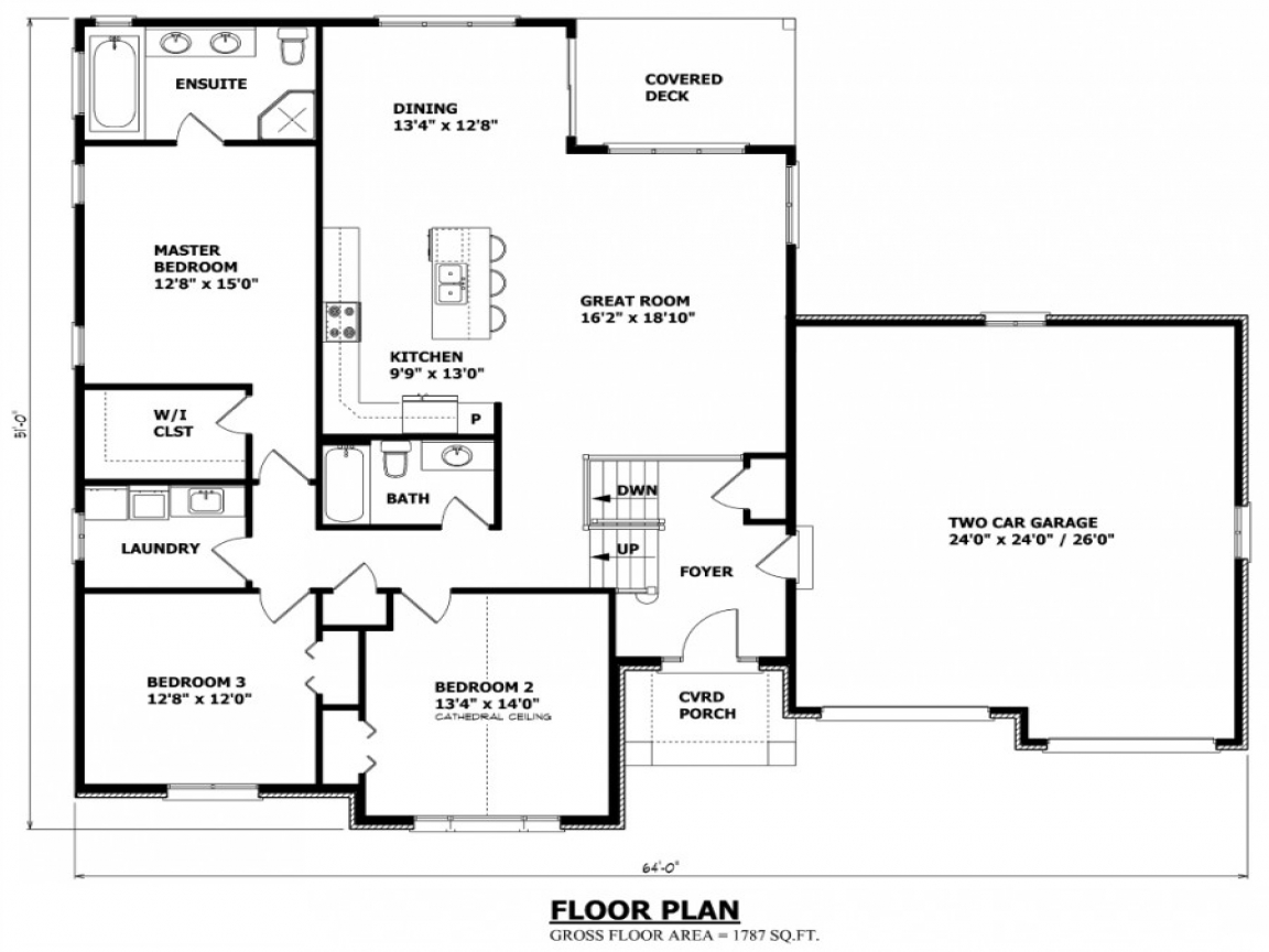 Canadian house plans canadian ranch house plans raised for Nauta home designs