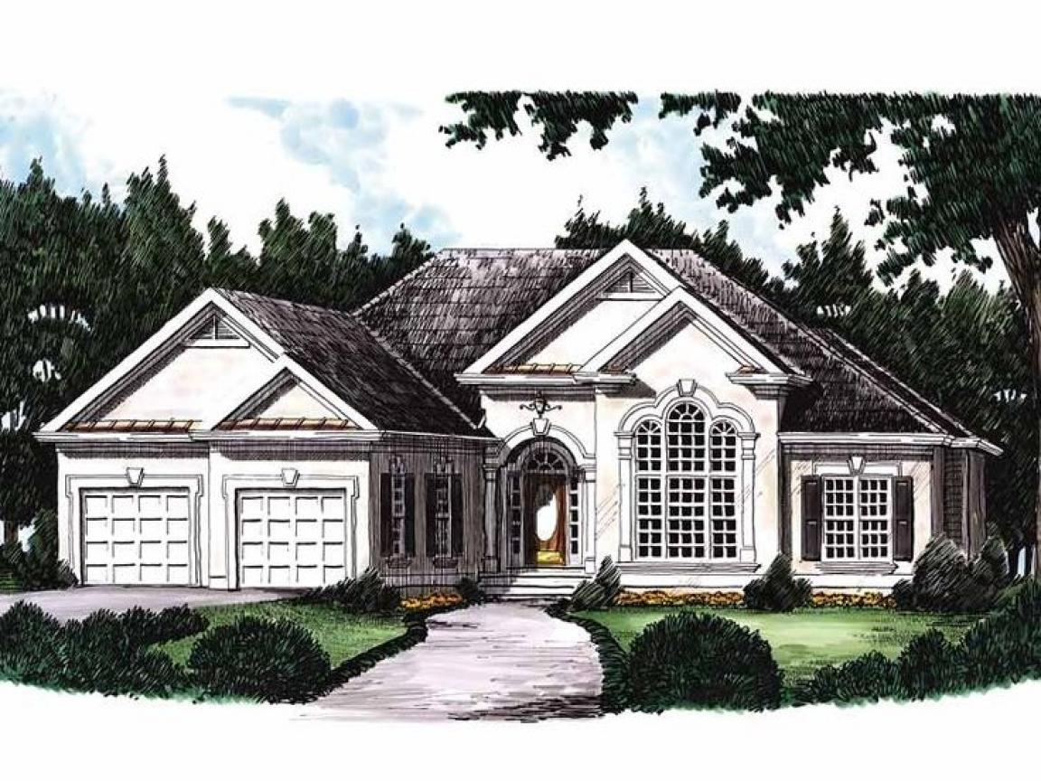 Eplans new american house plan rustic house plans 3 for America house plans