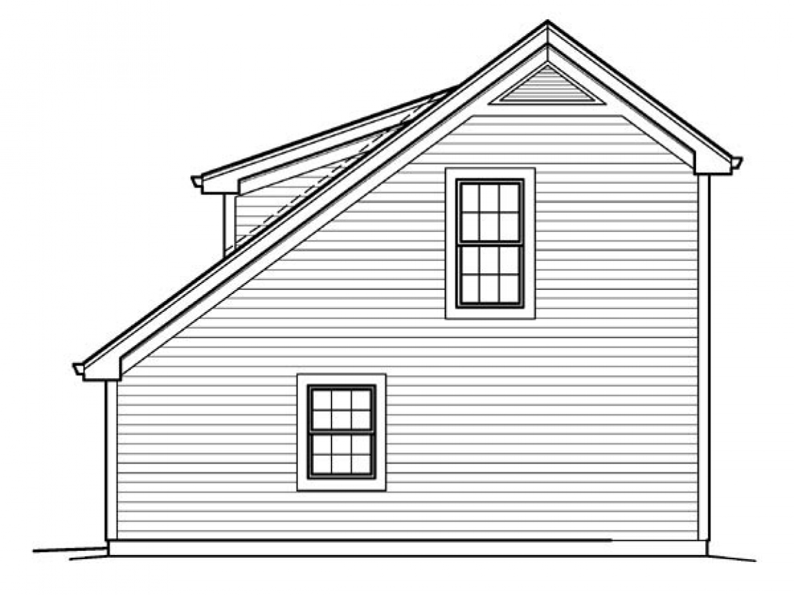 Saltbox house plans with garage saltbox garage plans for Saltbox cabin plans