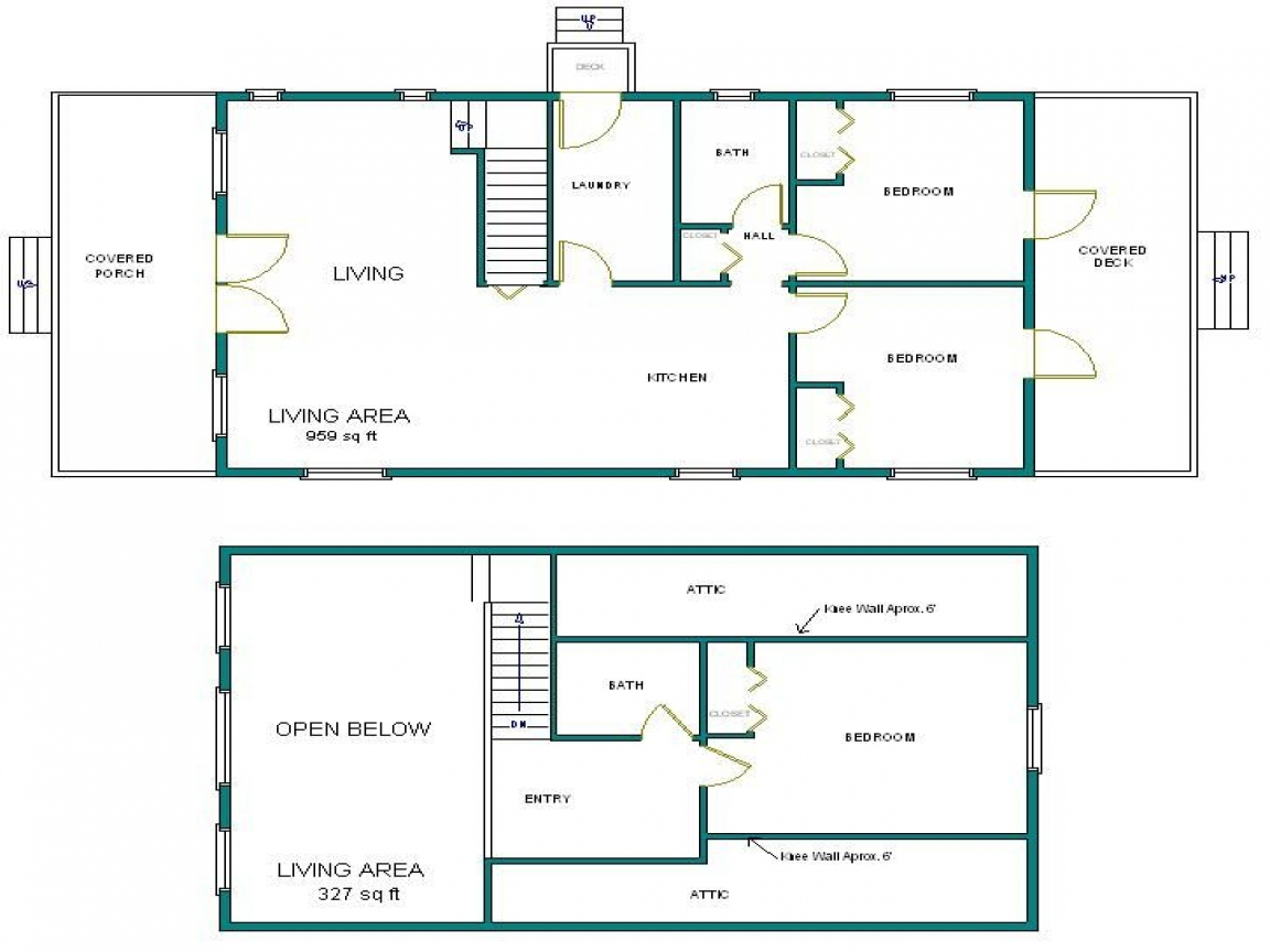 Arched cabin floor plans 24x40 arched cabin blueprints and for Cabin floor plans
