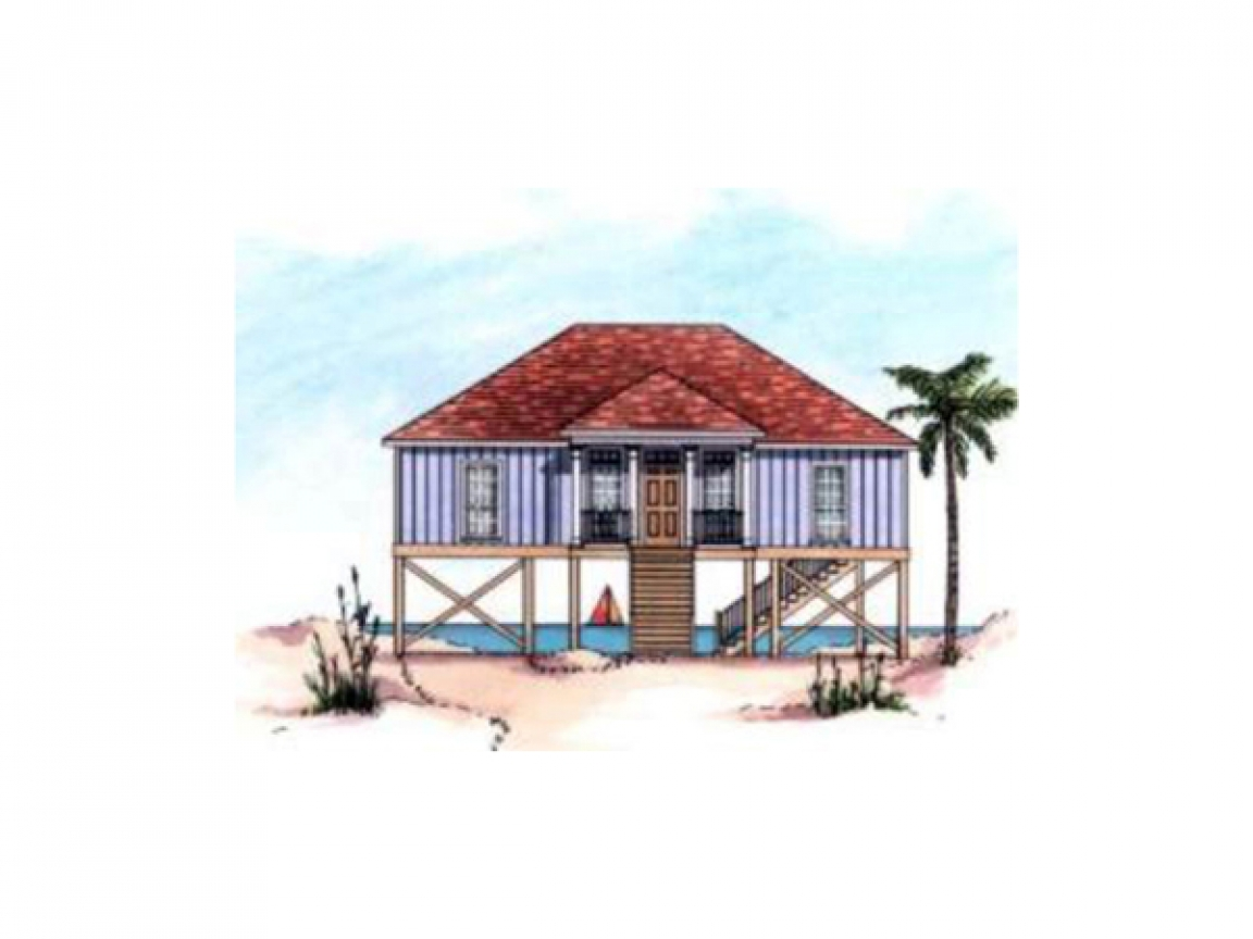Raised beach house floor plans engineered raised floor for Elevated foundation house plans