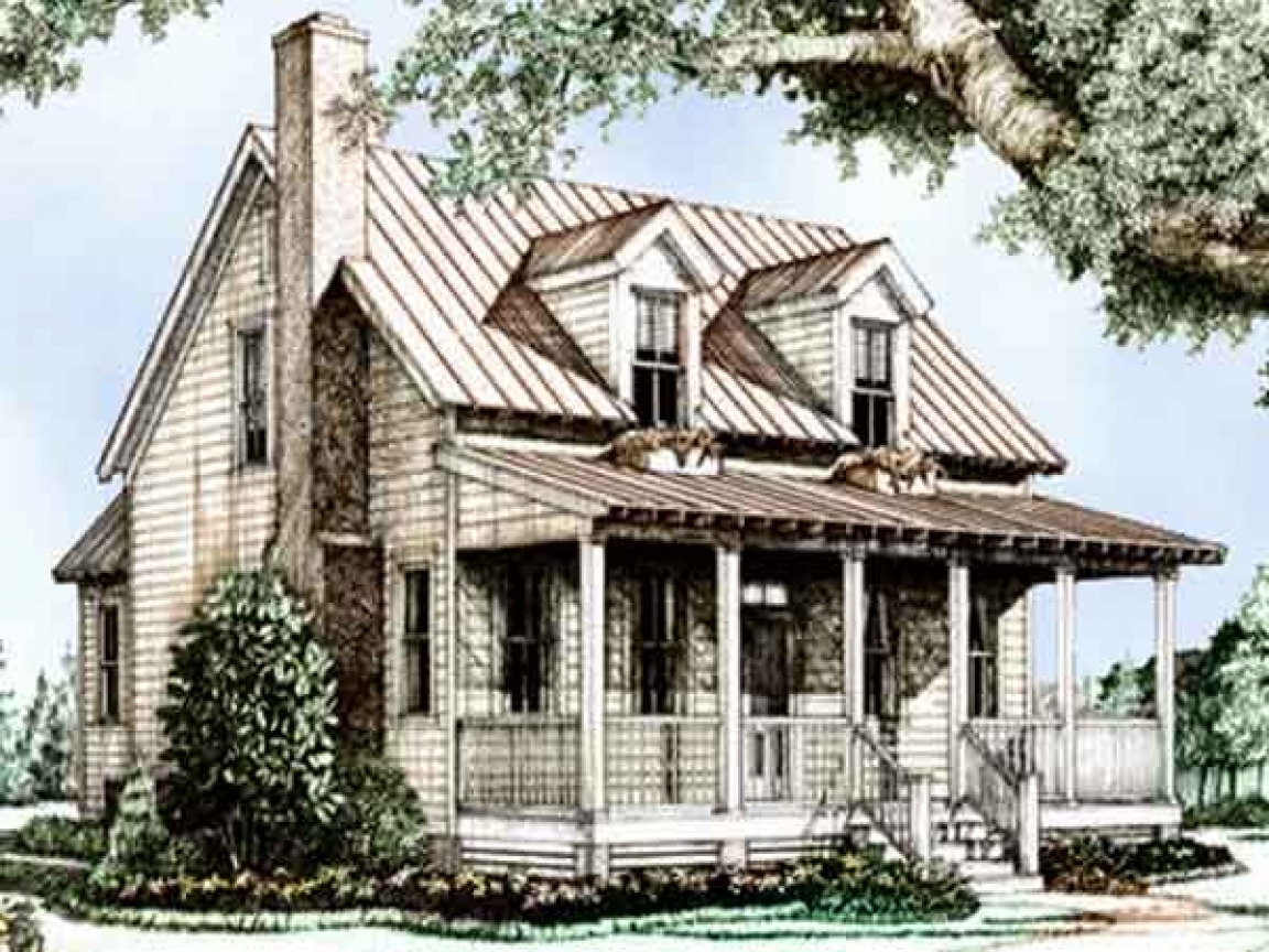 Small house plans southern living southern living cottage for Small river house plans