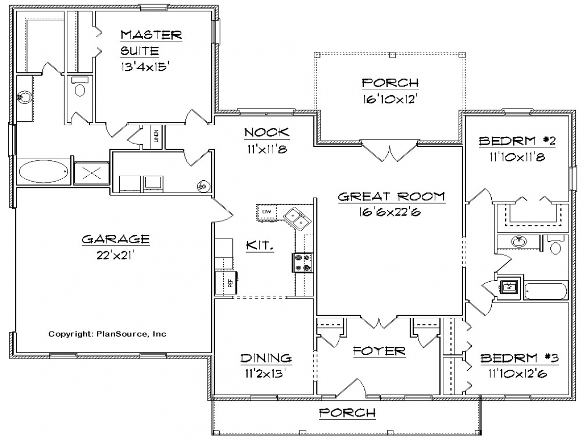 Free House Floor Plan Design Free Home Floor Plans 4