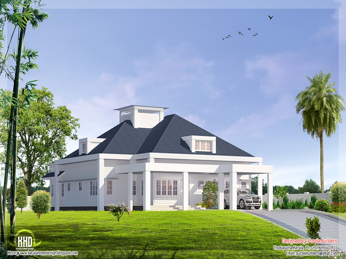 Single Floor House Plans With Open Design Single Floor