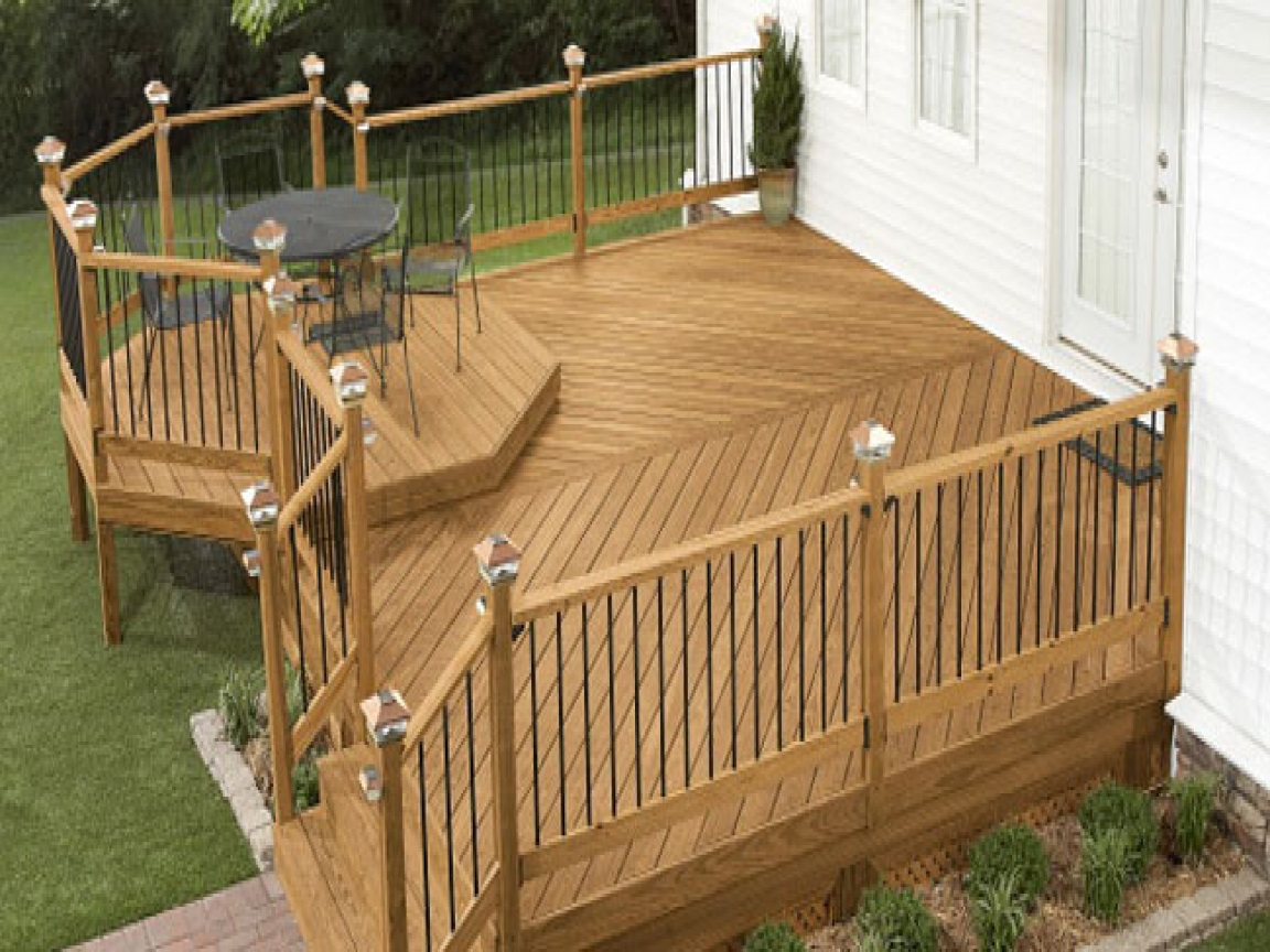 Lowe S Deck Design Plans Square Deck Plans Treesranch Com