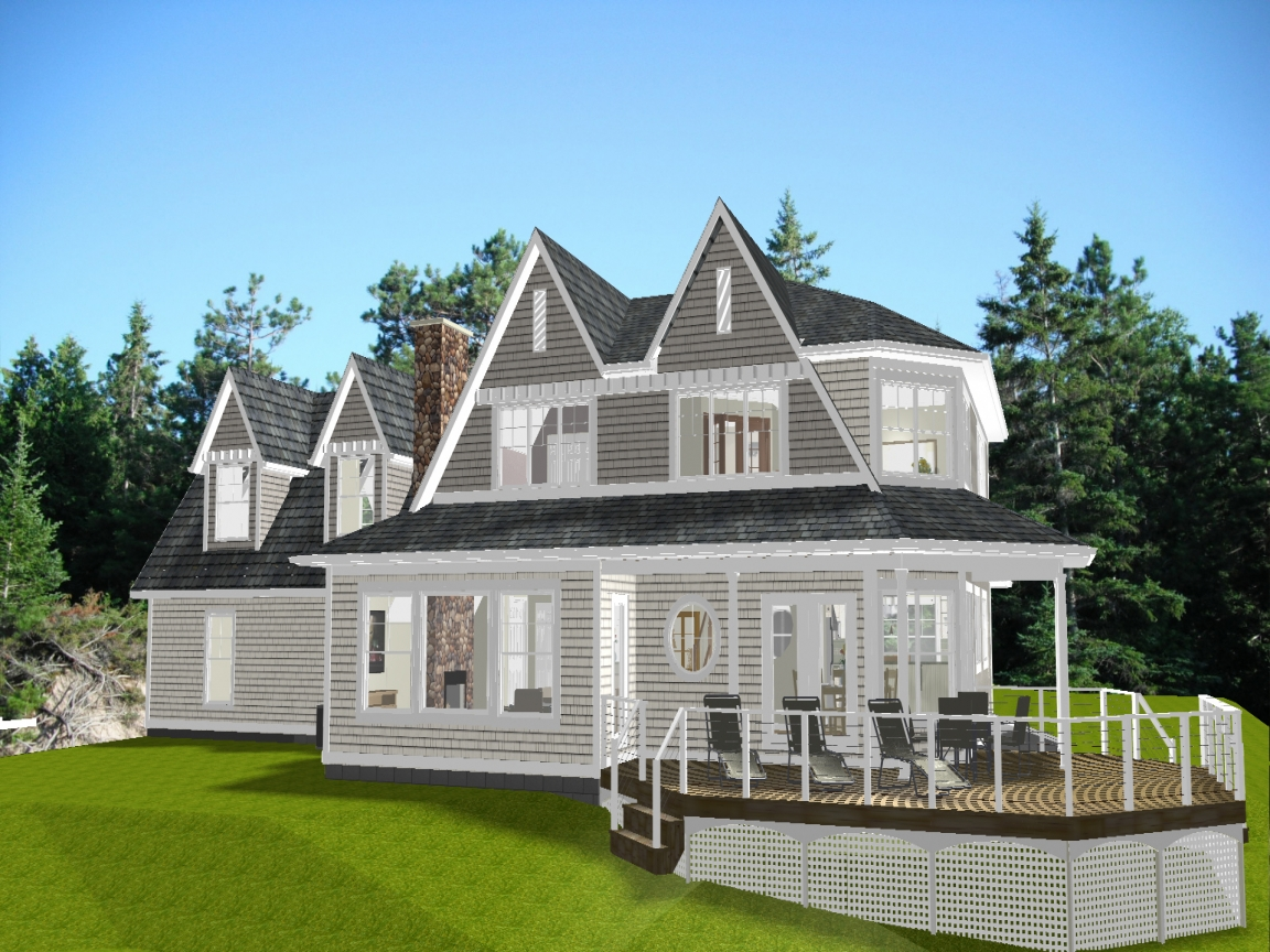 New england cottage house plans new england style house for New england home plans