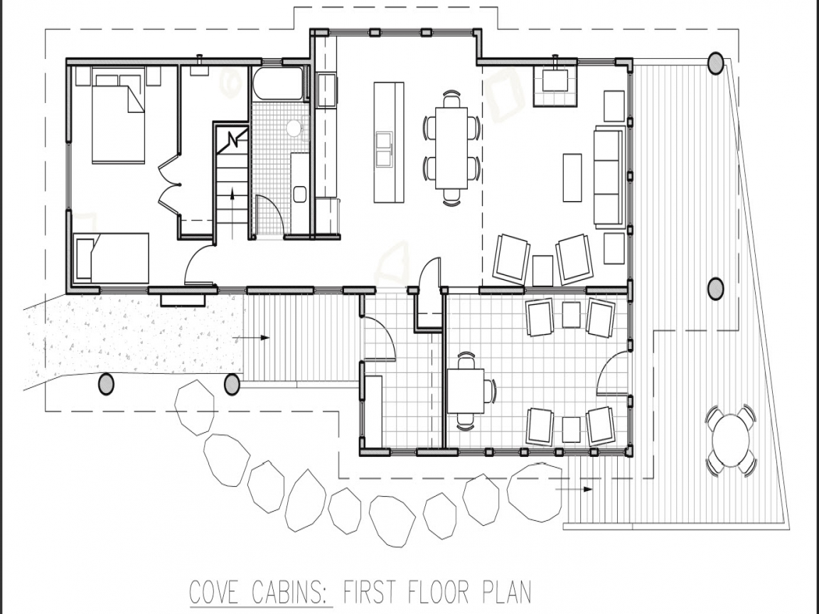Small Hunting Cabin Floor Plans Small Hunting Cabin