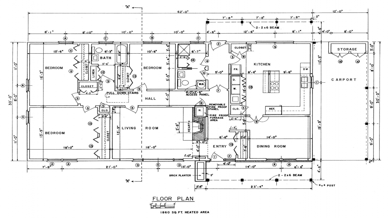 Free Ranch House Floor Plans Ranch Style House Plans Free