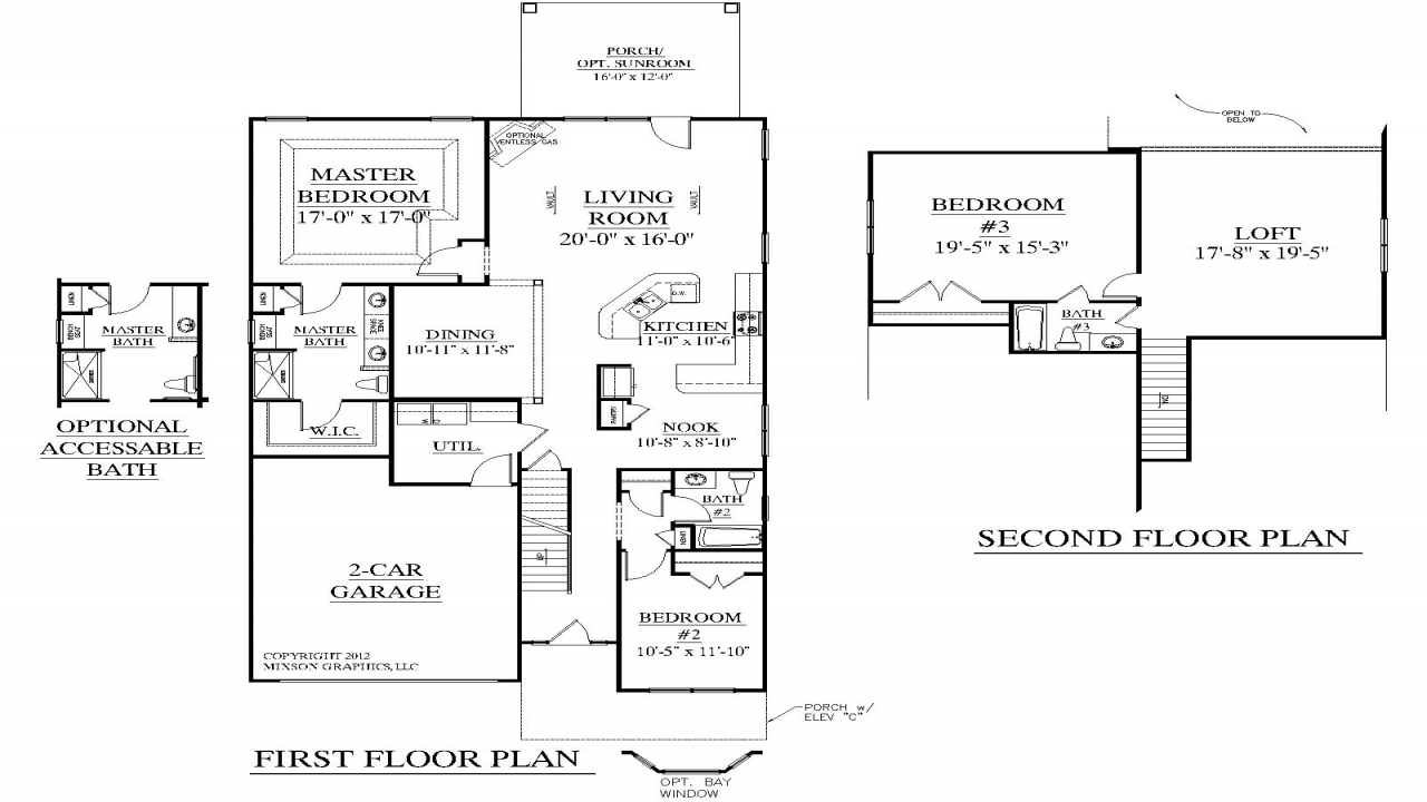 3 bedroom house plans with loft best 3 bedroom house plans for Best 3 bedroom house designs
