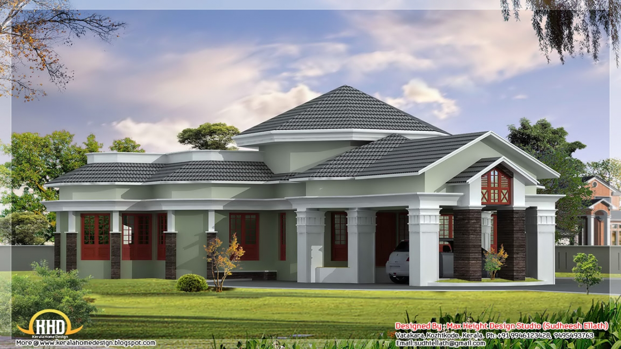 One story luxury house plans one floor house designs for Luxury single story home plans
