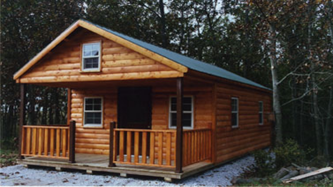 Tiny Home Designs: Small Log Cabin Cottages Tiny Romantic Cottage House Plan