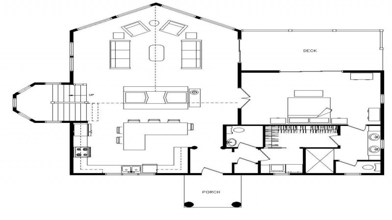 3 Bedroom Log Cabin Floor Plans 3-Bedroom Log Cabin Kits ...
