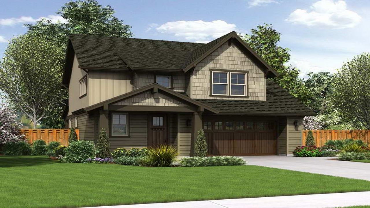 Craftsman style cottage house plans cottage and craftsman for Craftsman cottage home plans