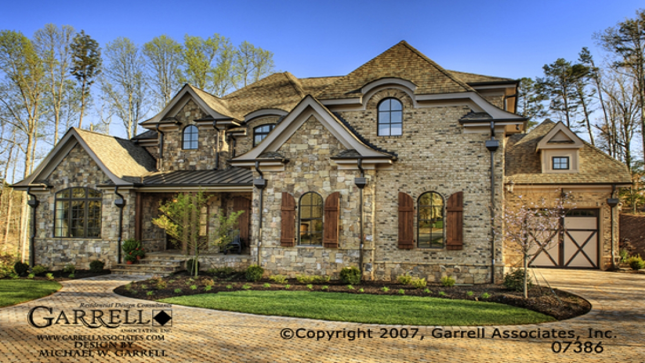 French country house exteriors french country chateau for French country ranch home plans