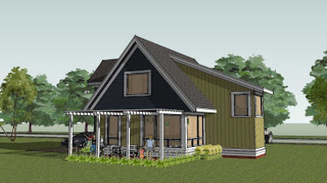 Rustic cottage house plans contemporary cottage house for Rustic contemporary home plans