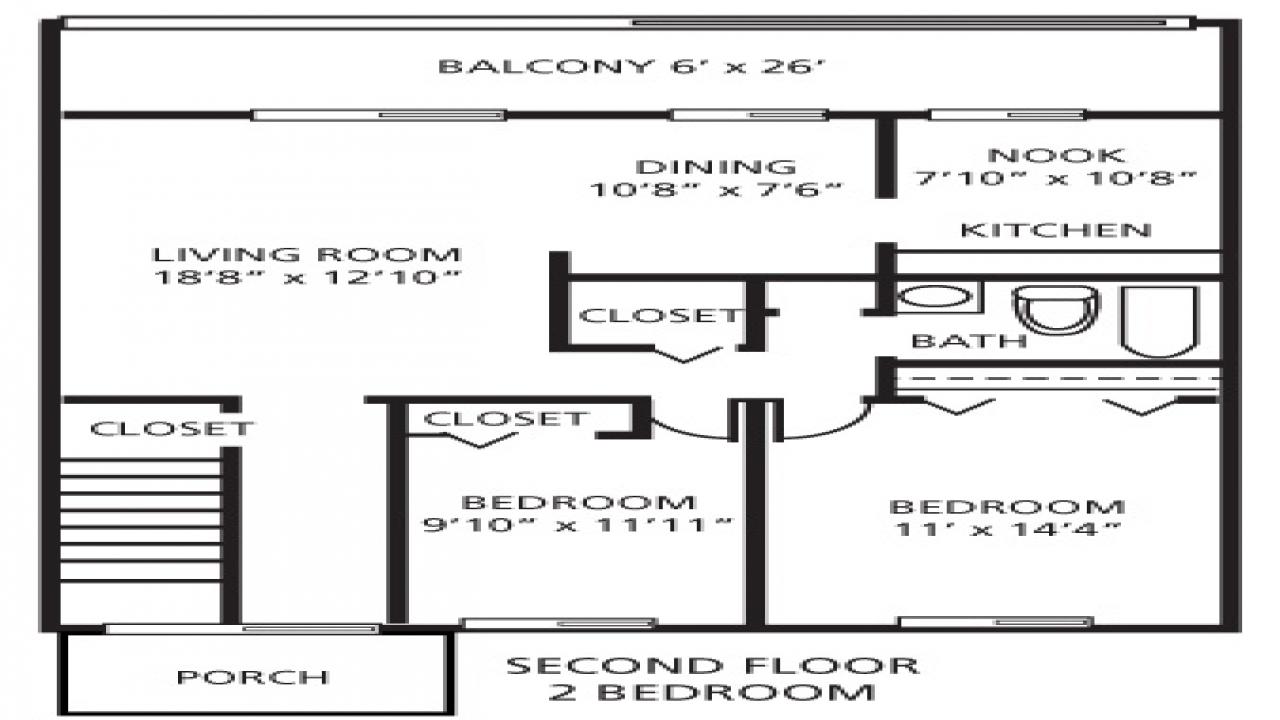 2 Bedroom 800 Sq Ft House Plans 2 Square Root 2 800 Sq Ft