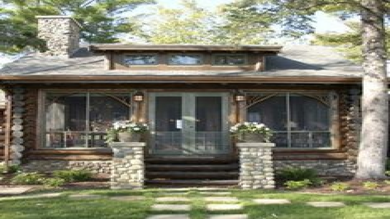 Cute Small Log Cabin House Small Cabin Floor Plans