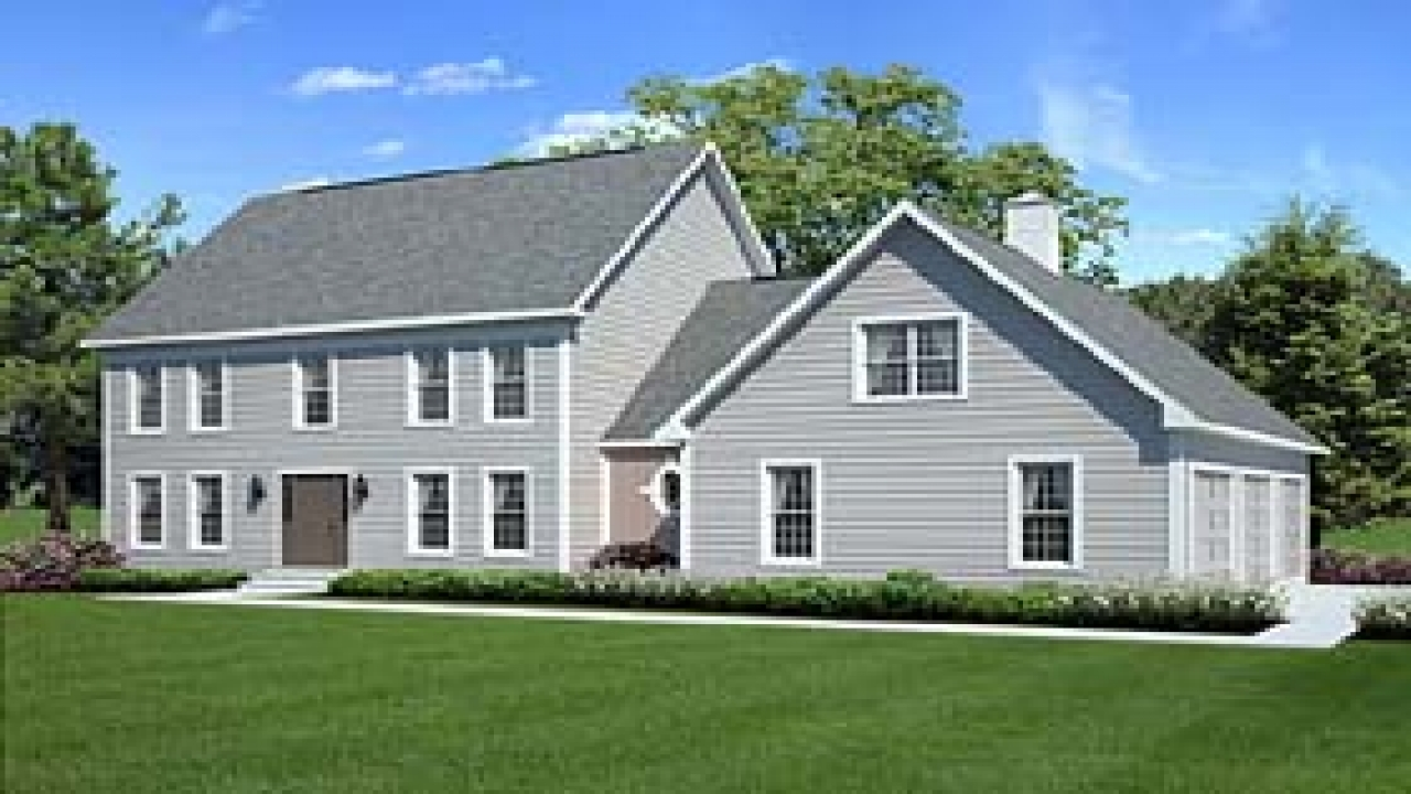 House plans colonial style homes country style house plans for Colonial house style
