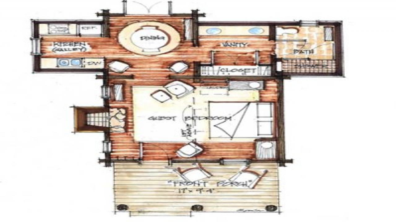 Rustic Barn Flooring Small Rustic Cabin Floor Plans
