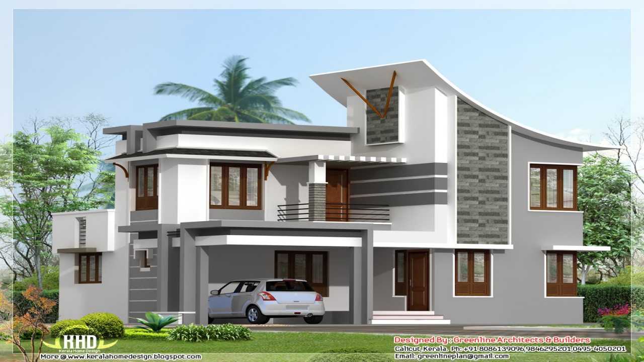 Modern 3 bedroom house affordable house plans 3 bedroom for Modern house 3