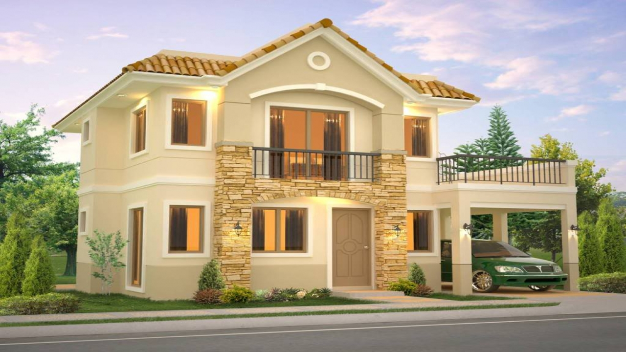 New model house in philippines model design house for Latest model house design