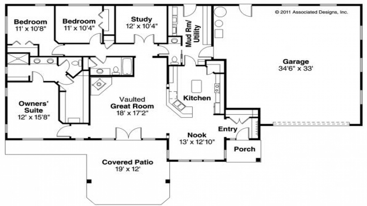 Image Result For Ranch House Plans With Porches