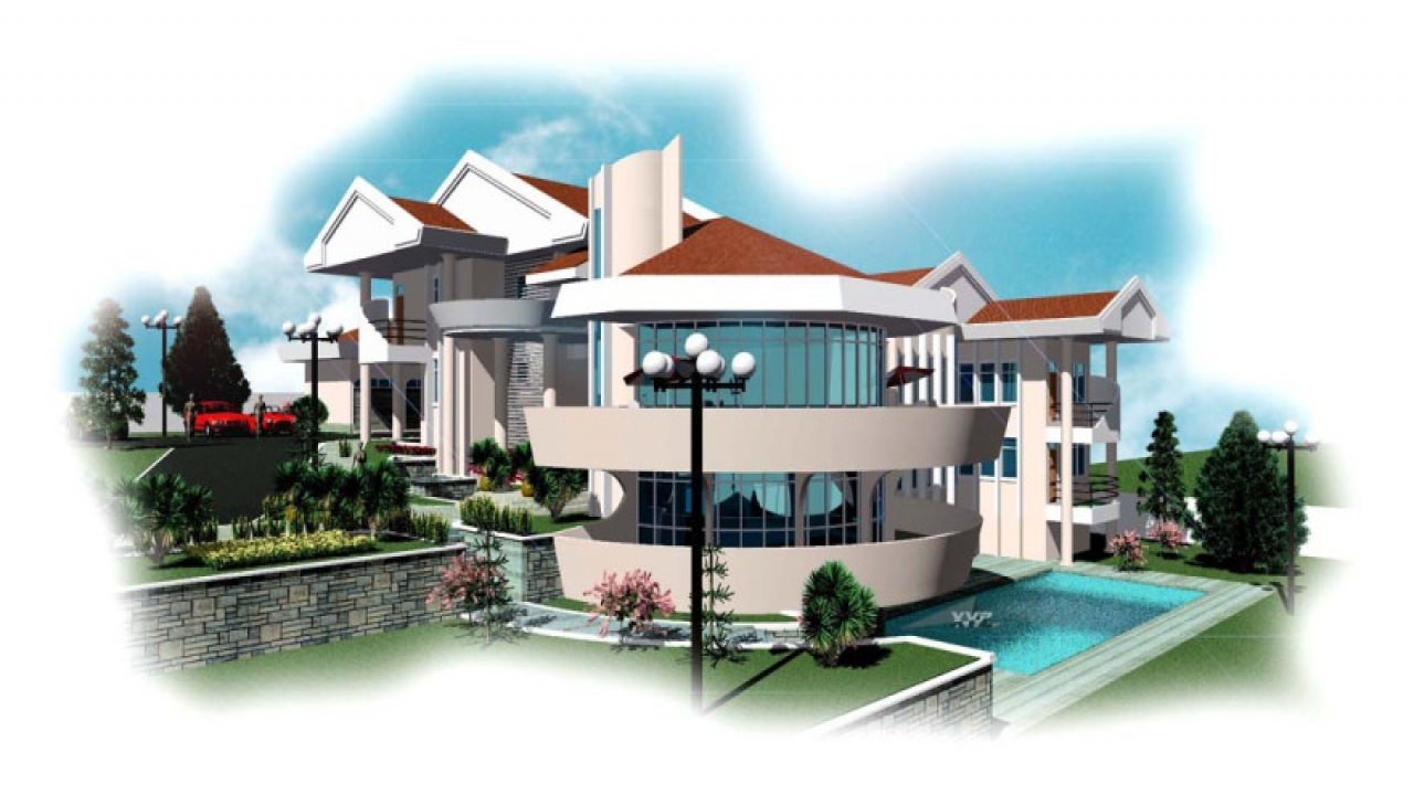Architectural designs house plans in ghana ghana homes Buy architectural plans