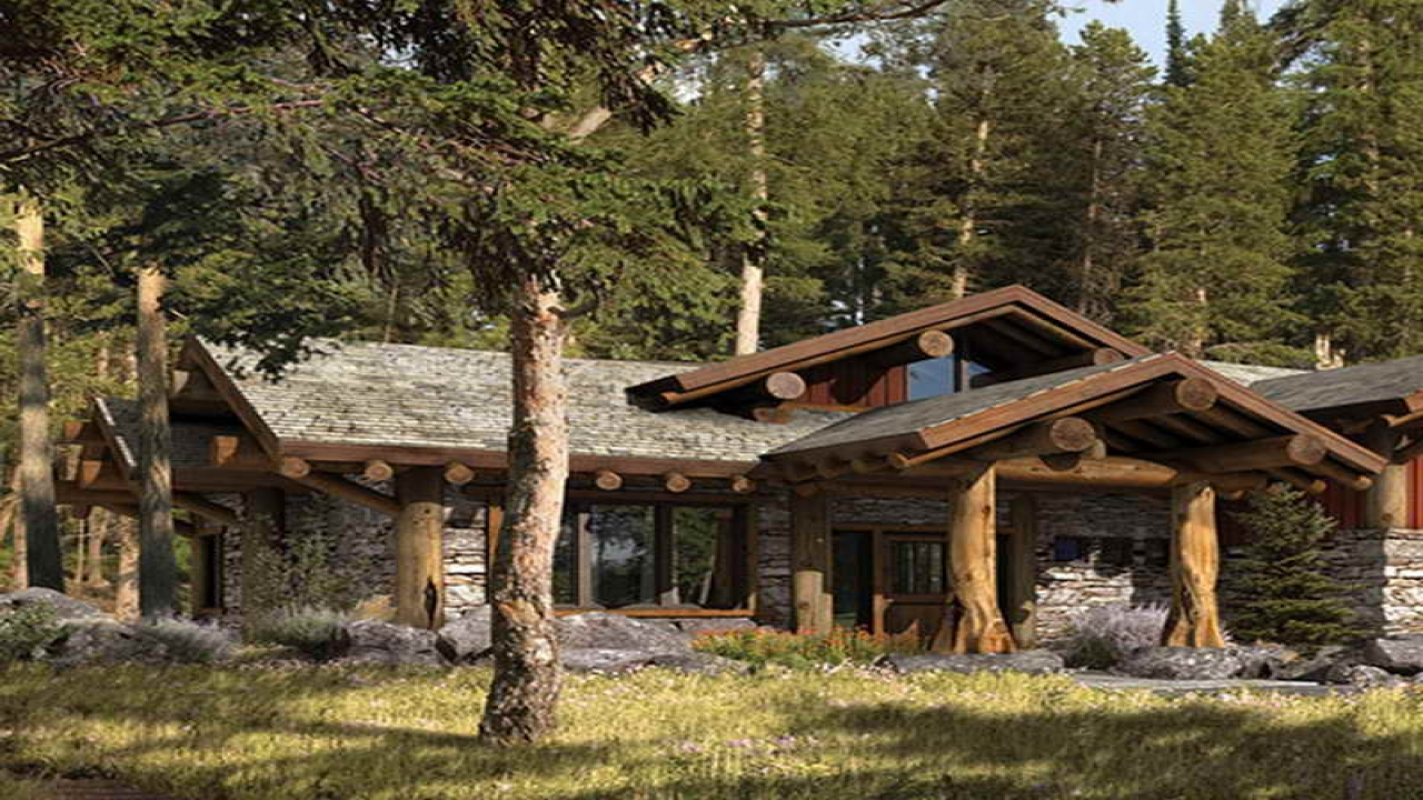 Rustic mountain homes exterior small rustic mountain home for Rustic mountain homes