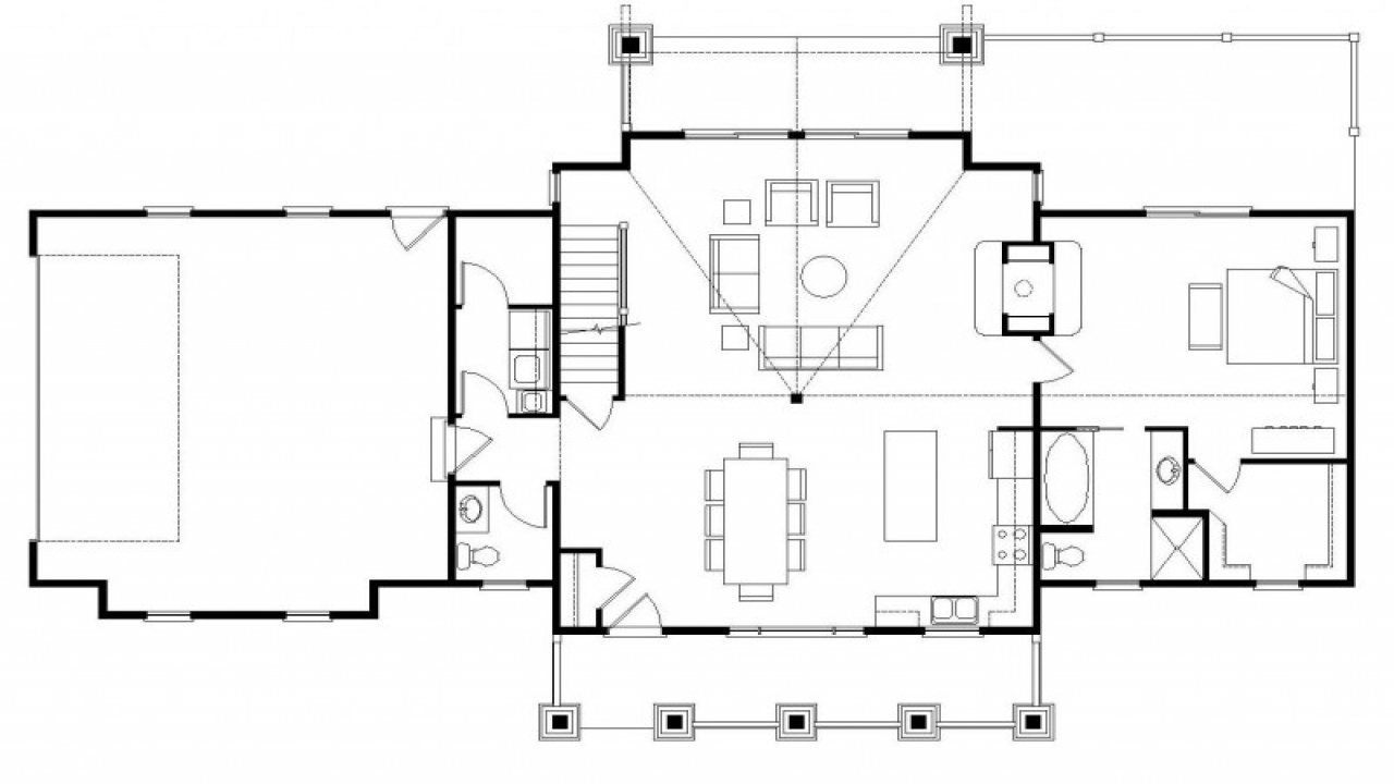 Best open floor plans homes with open floor plans simple for Best ranch house plans 2016