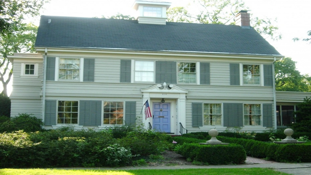 1925 Dutch Colonial Home Styles Dutch Colonial Style Home