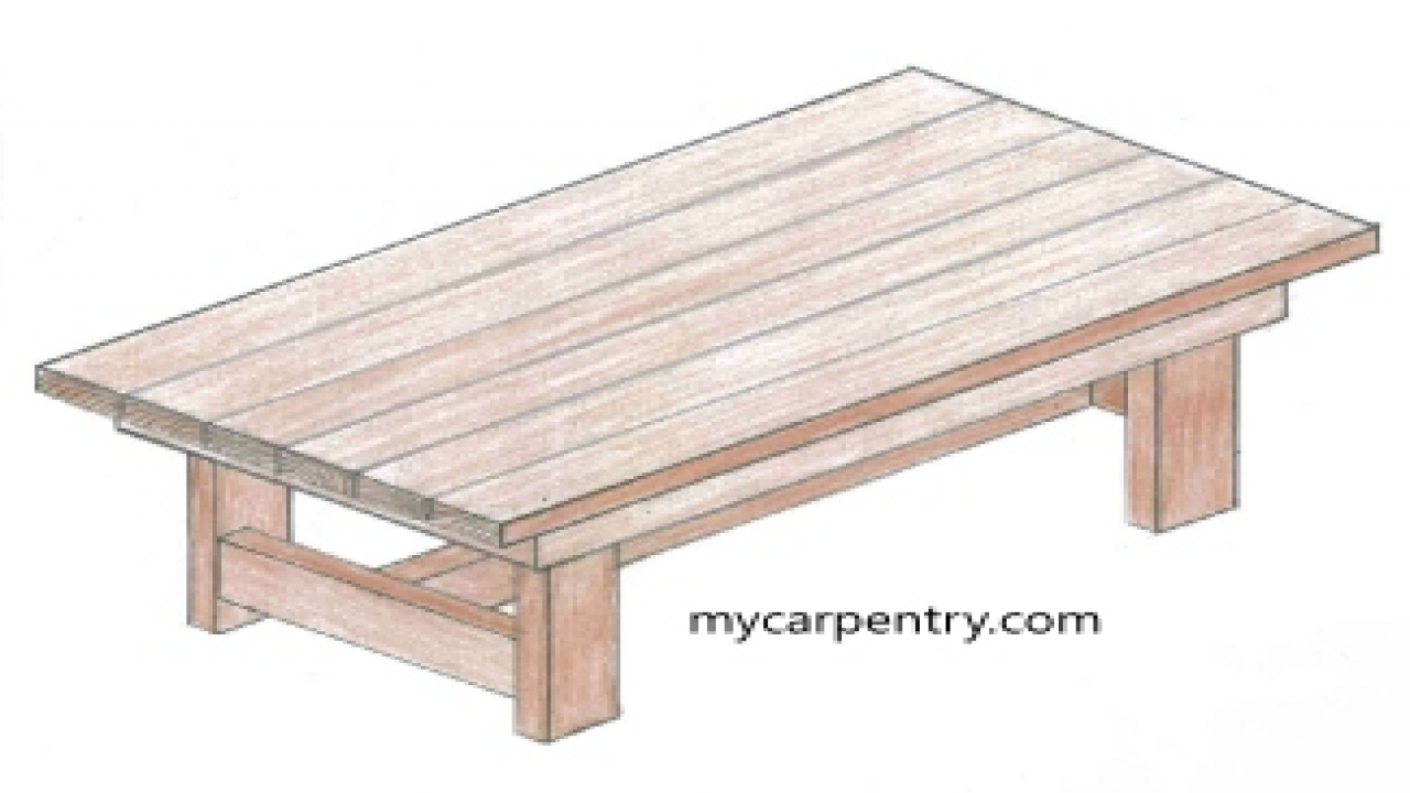 Simple coffee table design plans coffee table design plans for Simple table design