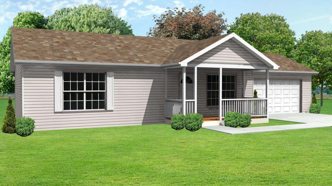 Small concrete block house plans small home house plan for Small block house plans
