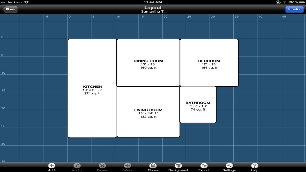 Best ipad app design floor plan ipad application design Flooring design app