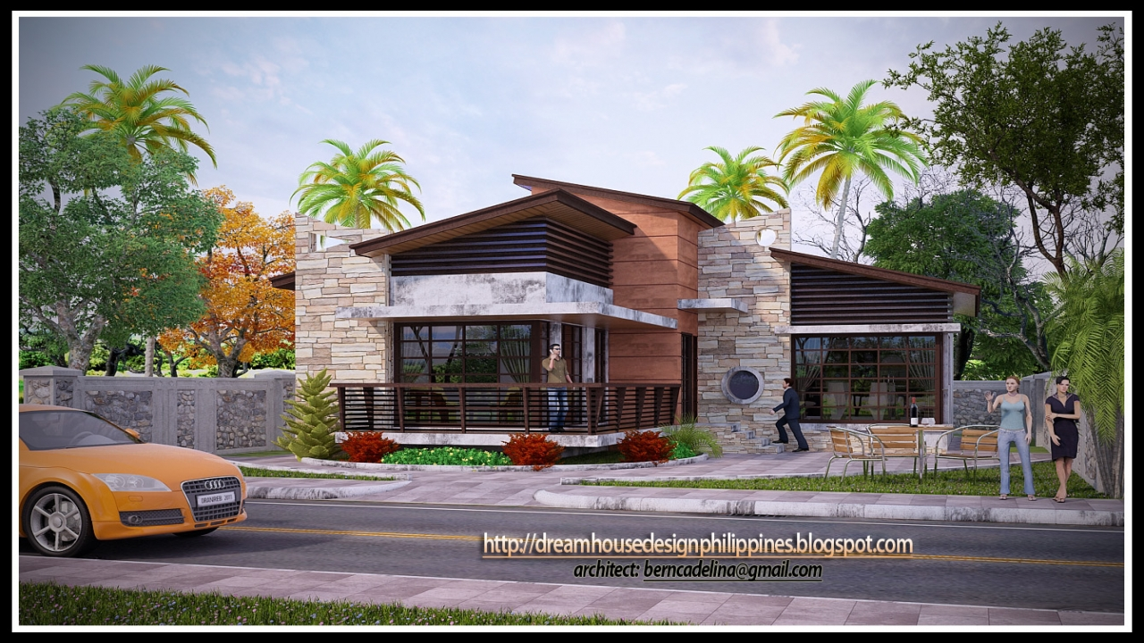 Contemporary bungalow house plans modern bungalow house - Modern contemporary house plans designs ...