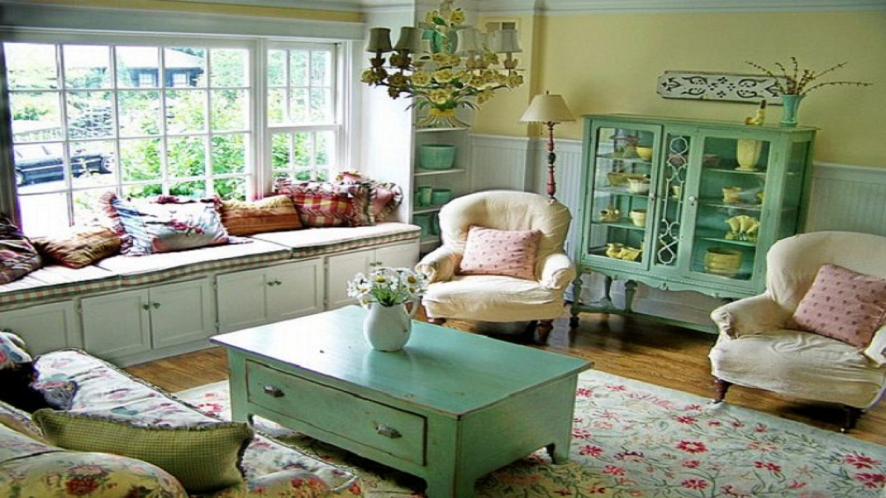 English country cottage living rooms country cottage for Cottage living room design ideas
