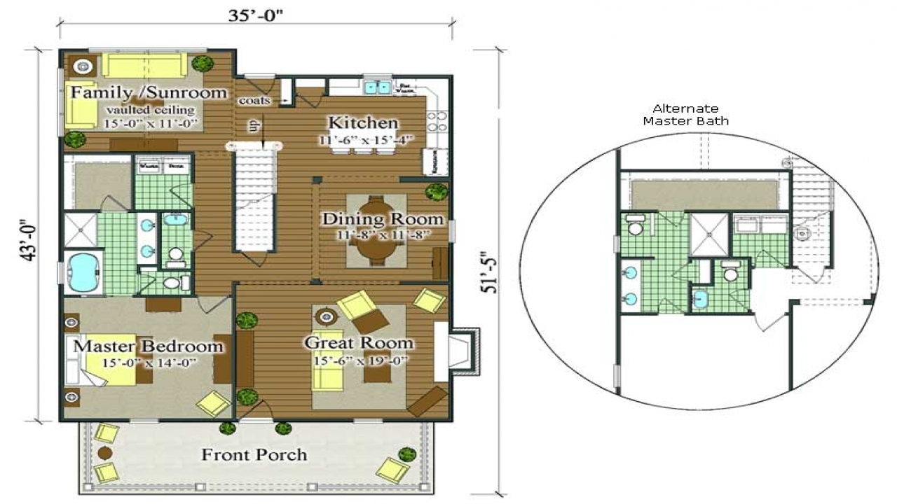 Historic French Colonial Floor Plans French Colonial