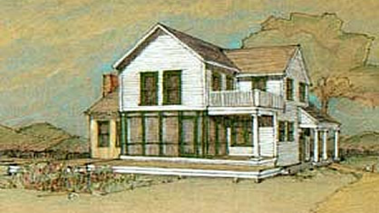 Old Farmhouse Style House Plans Federal Style House