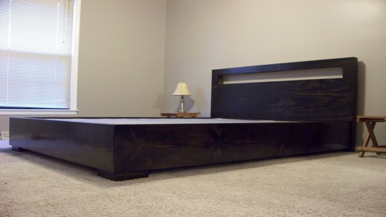 Platform Bed Frame With Headboard Clearance Platform Beds
