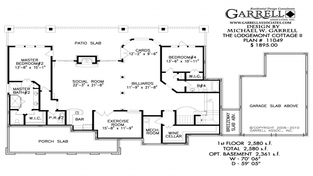 Simple house plans with basements simple affordable house for Simple affordable house plans