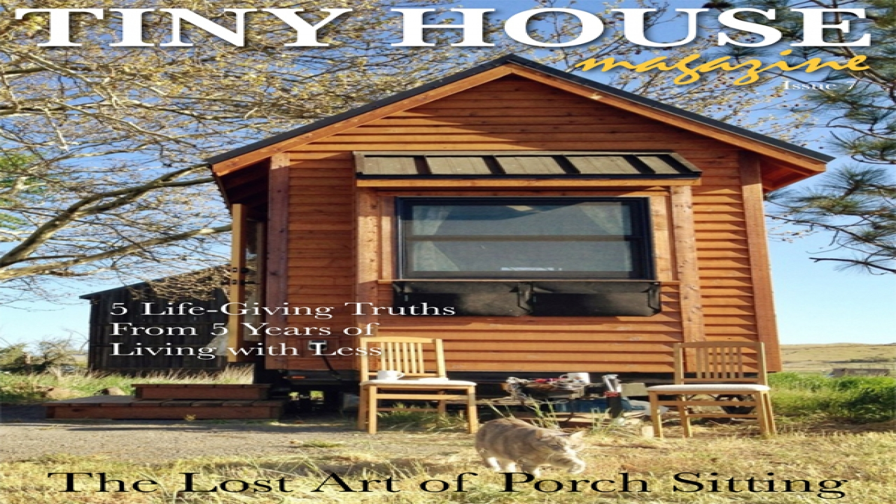 Tiny House Magazine The Magazine Is Available In An Ipad