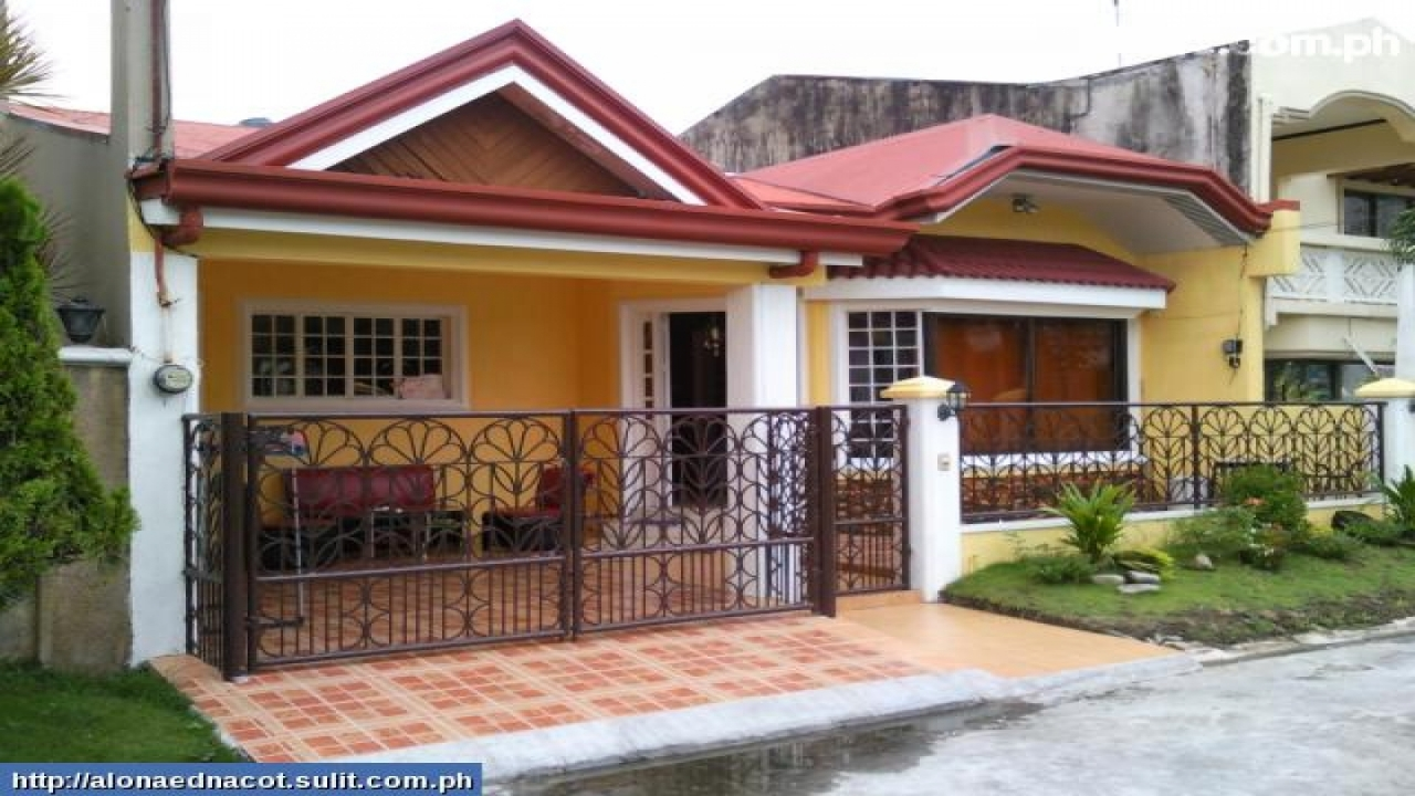 Bungalow house plans philippines design small two bedroom for Two bedroom bungalow plans