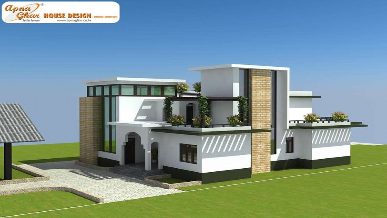 2 Car Garage Duplex Plans Modern Duplex House Plans
