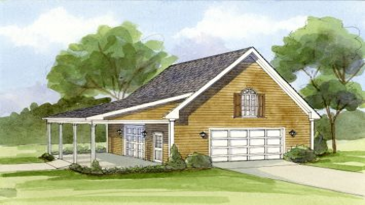 Simple Carport Plans Garage With Carport Plans House Plan