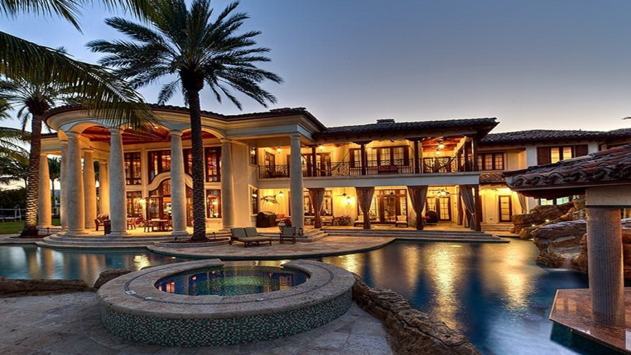 Luxury Mediterranean Style Home With All The: Beautiful Mediterranean Home Interiors Luxury